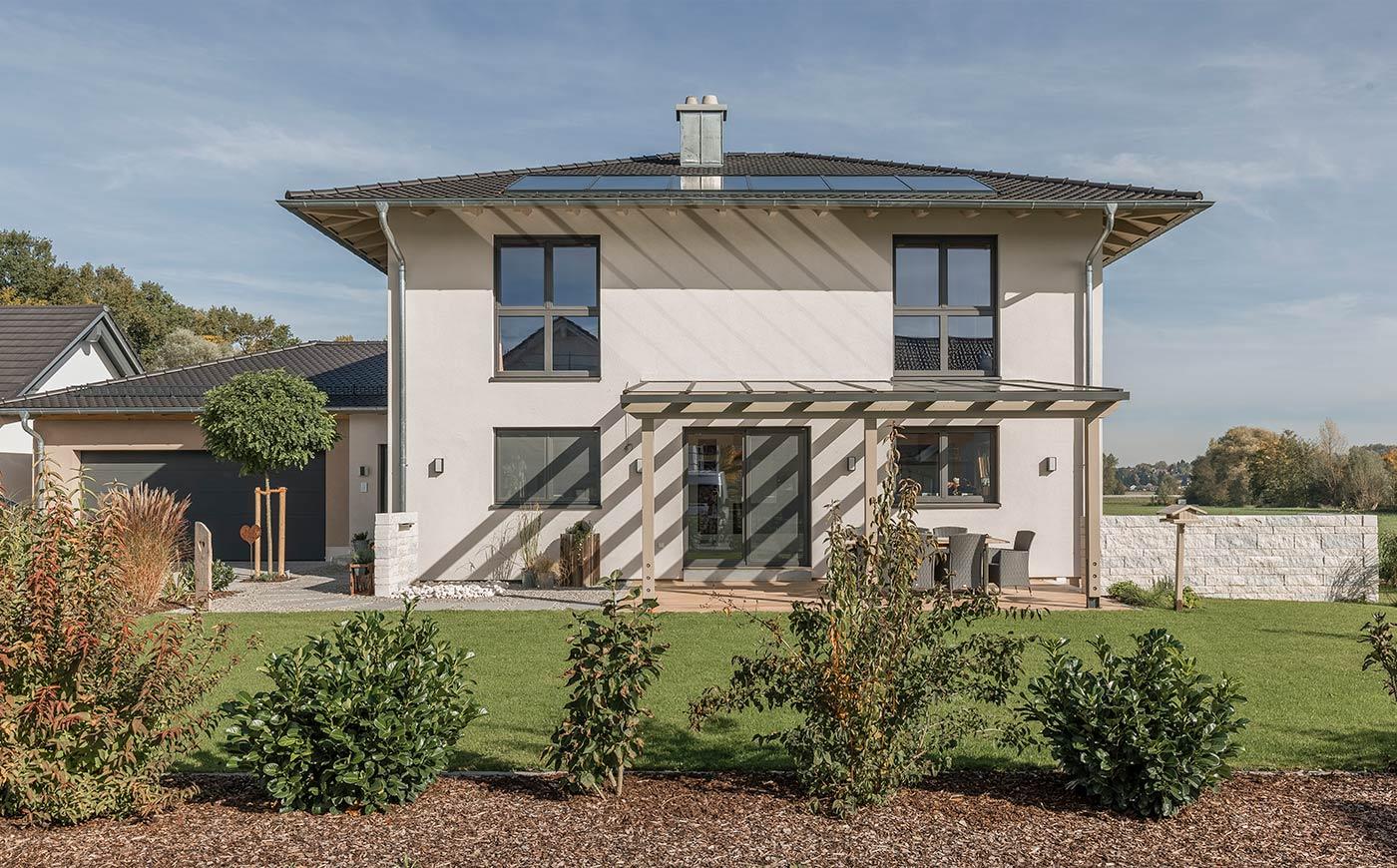 Modernes Holzhaus in Ihrem individuellen Stil