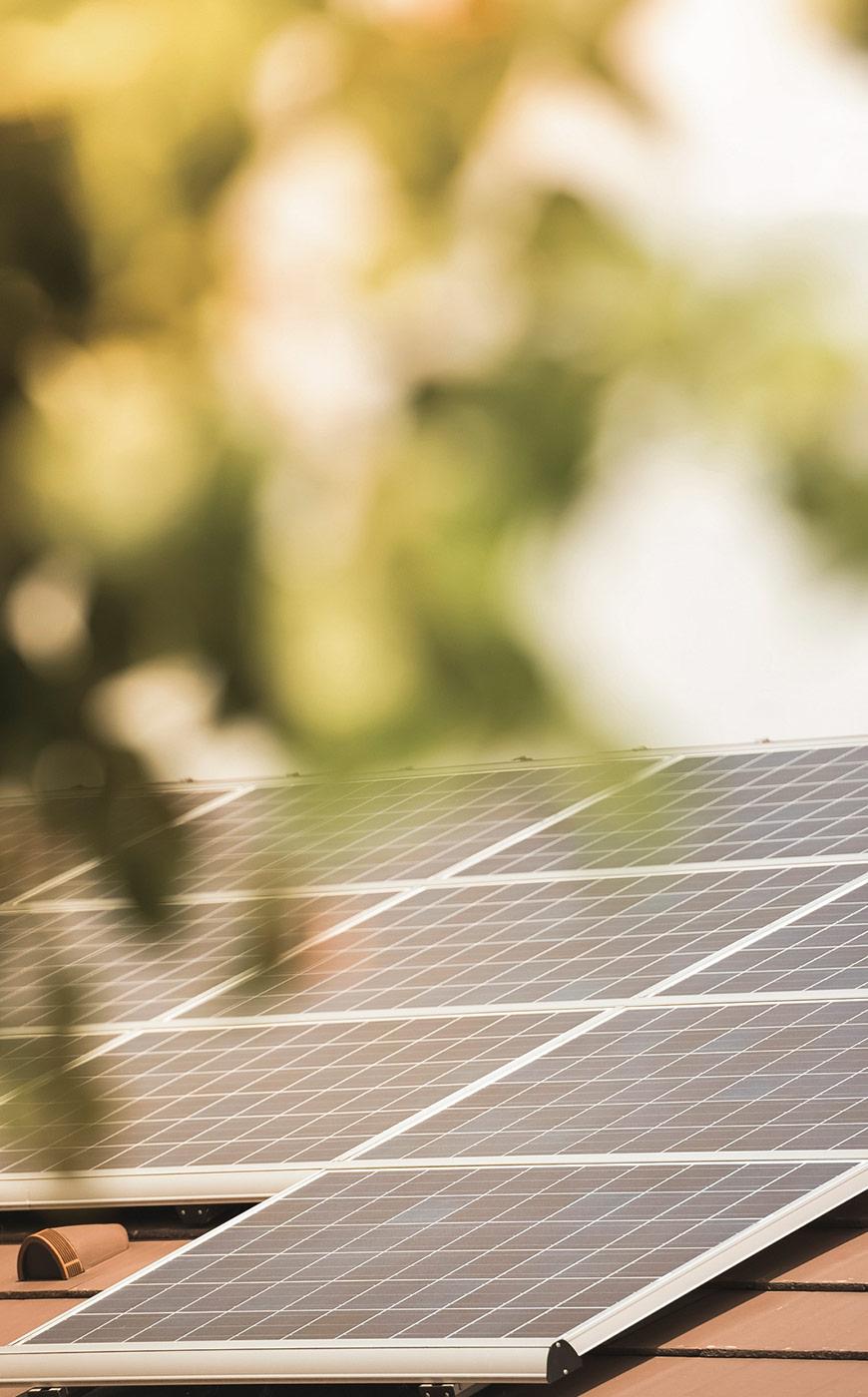 Sonnenenergie im Holzhaus