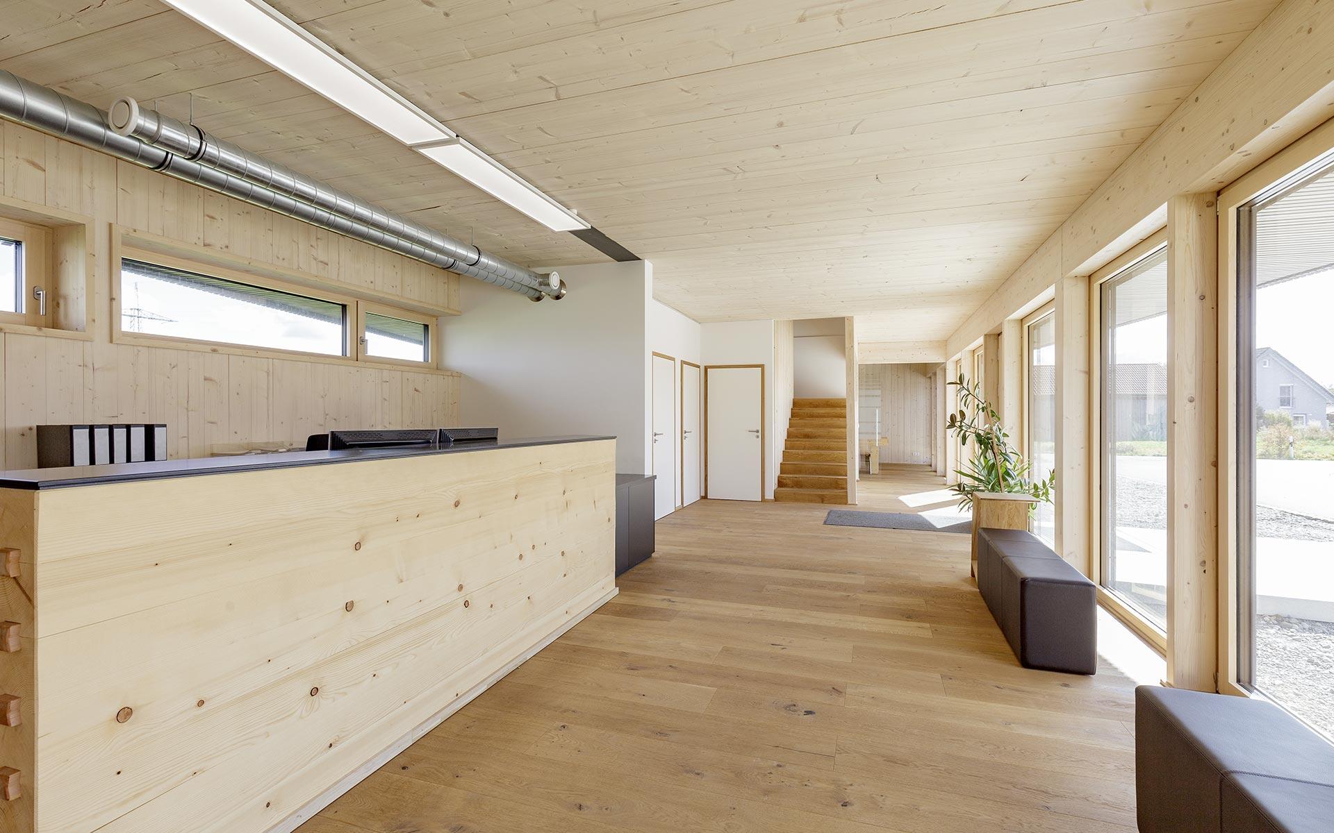 Architektenhaus mit Vollholzwänden