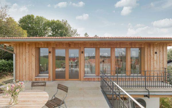 Ein Studio aus Holz für mehr Kreativität