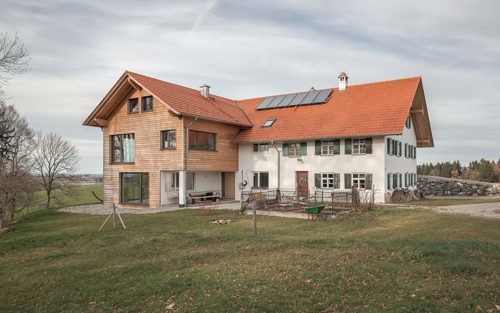 Holzhäuser sind Natur