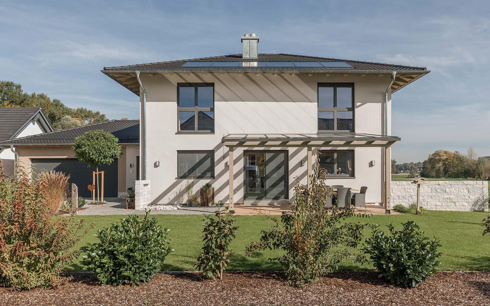 Ein energiesparendes Holzhaus