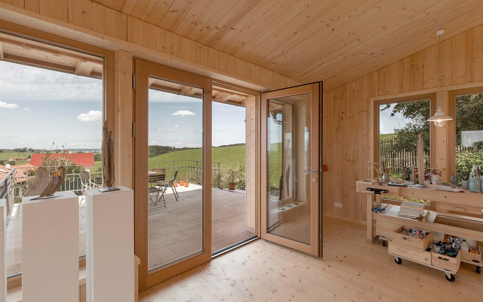 Holztüren von unserem Partner Güthler Glasfassaden GmbH
