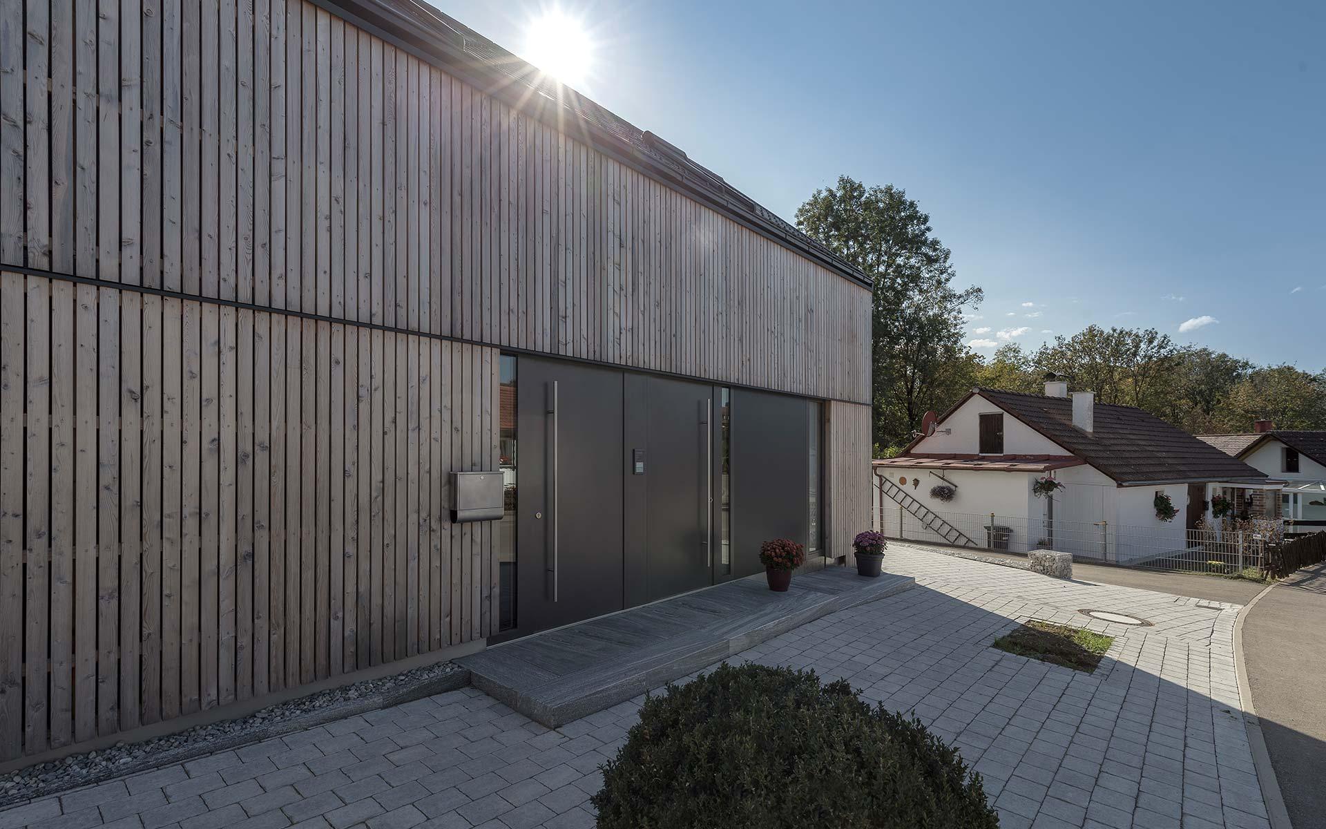 Architektenhaus aus Holz